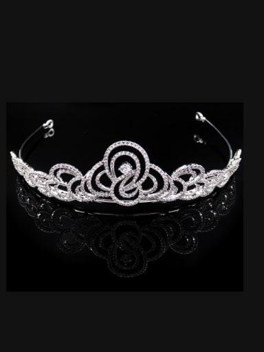 Beautiful Flower-shape  Fashion Noble Copper Hair Accessories