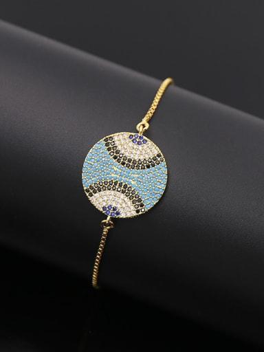 2018 Turquoise Adjustable Bracelet