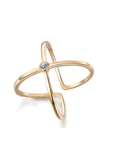 Creative Gold Plated Stacking Ring