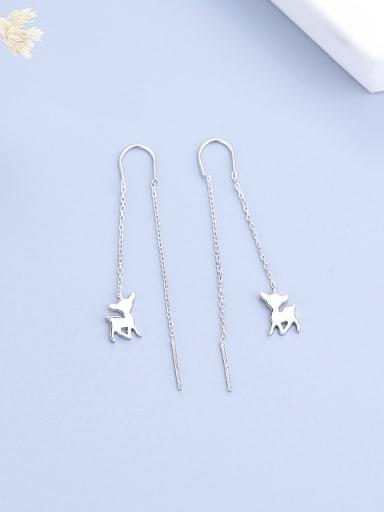 Women Lovely Deer Shaped Earrings
