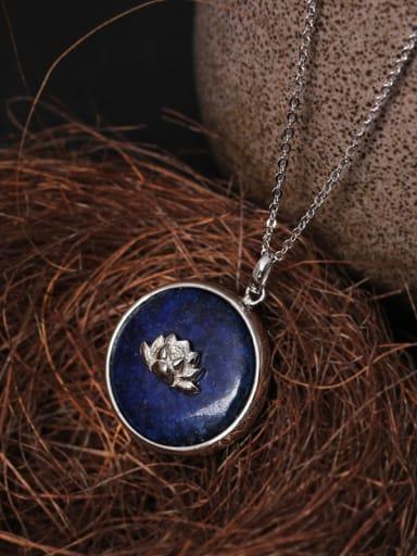 Beautiful Handmade Lotus Pendant Necklace