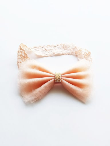 Yarn Bow bady headband