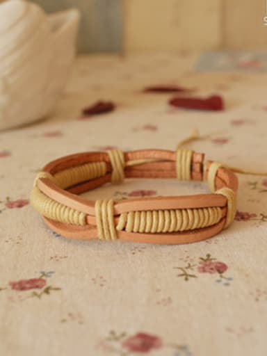 Simply Style Cownhide Leather Bracelet