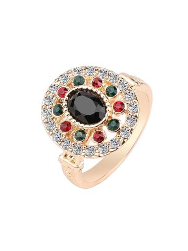 Fashion Resin stones Rhinestones Alloy Ring
