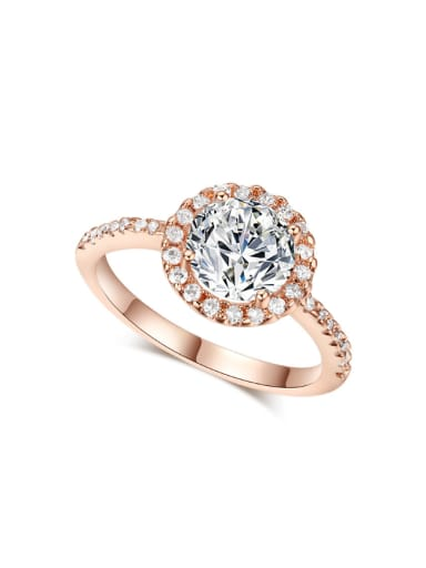 Hot Selling Classical Ring with AAA Zircons