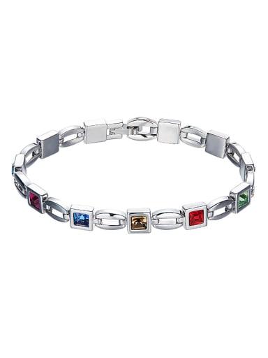 Multi-color Crystal Bracelet