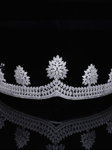 Micro Pave Zircons Noble Fashion Hair Accessories