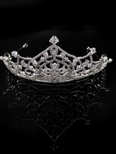 Hollow Crown-shape Western Style Noble Hair Accessories