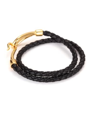 Fashion Titanium Steel Men Bracelet