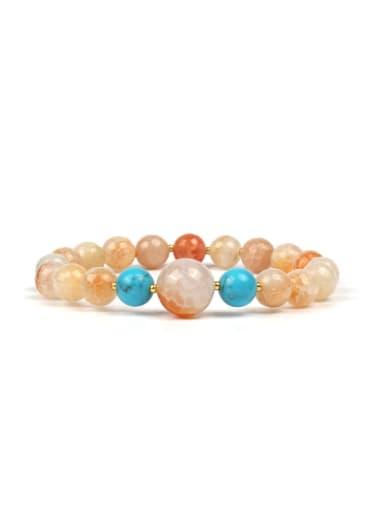 National wind fashion bracelet natural half jewel Bracelet