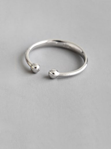 925 Sterling Silver With Smooth Simplistic Round Single Ear Clip Earless hole