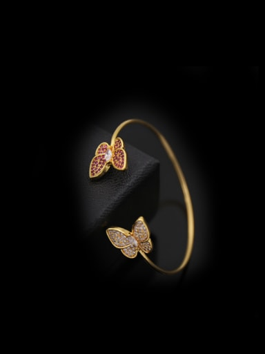 Butterfly Opening Bangle