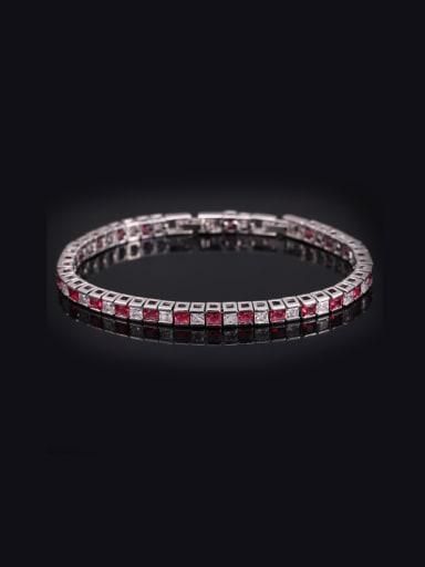Exquisite Color Zircons Bracelet