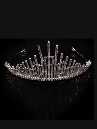 Sparking Luxury Micro Pave Zircons Wedding Hair Accessories