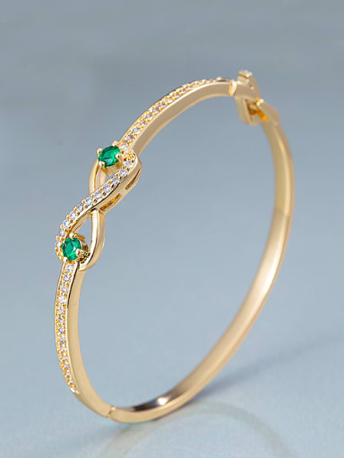 2018 18K Gold Plated Bangle