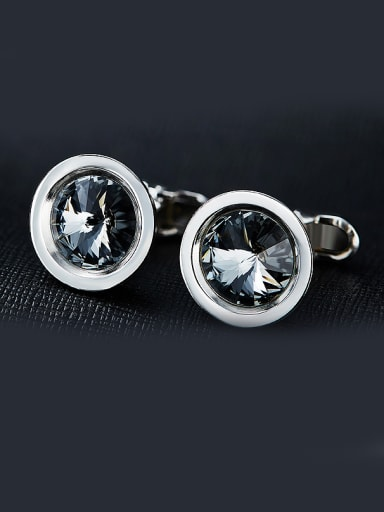 Swarovski Crystals Cufflinks