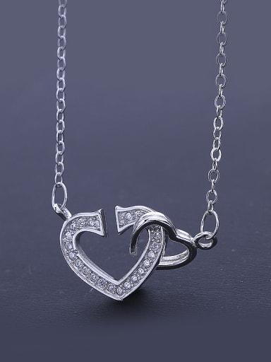 Temperament Heart Necklace