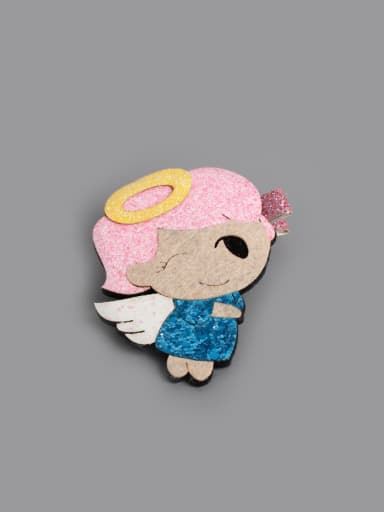 Cartoon Angel Hair clip