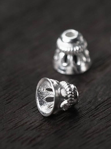925 Sterling Silver With Silver Plated Fashion Bullet Charms