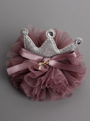 Elastic Crown Hair with mini hat