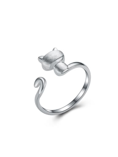 Lovely Cat Opening Ring Valentine's Day Gift
