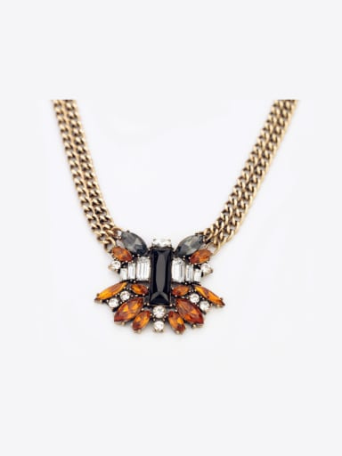 Retro Exaggerate Alloy Necklace
