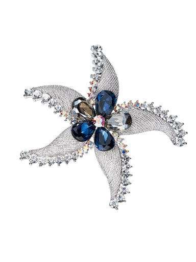 Five-pointed Star Shaped Brooch