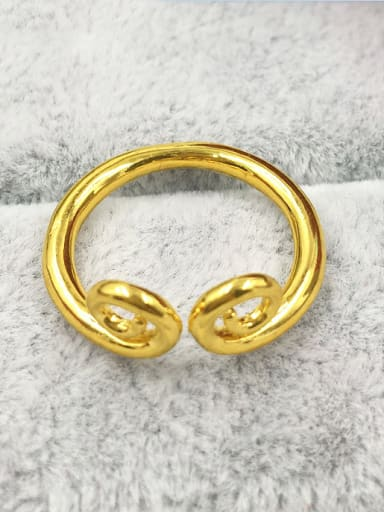 Gold Plated Geometric Women Ring