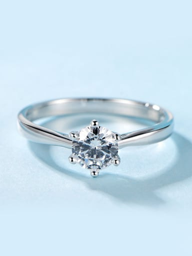 Women S925 Silver Engagement Ring