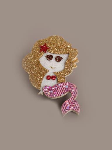 Mermaid Shaped Hair clips