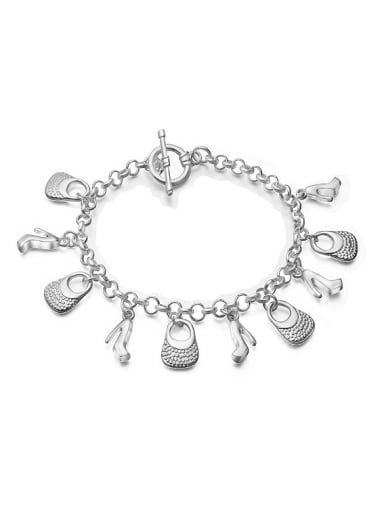 Personalized High-heeled Shoes Little Handbag Bracelet