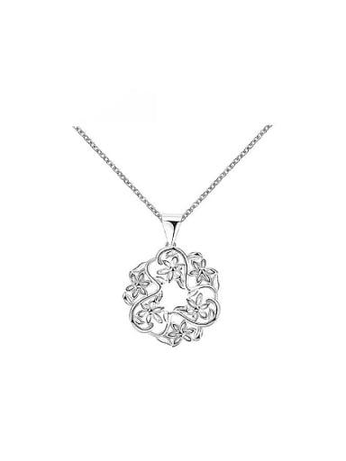 Women Exquisite Six Flowers Shaped Necklace