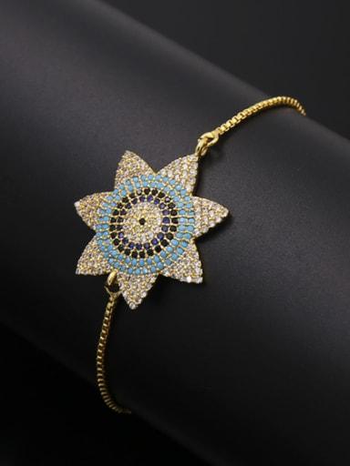 Sun Flower Adjustable Bracelet