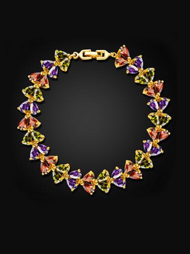 Fashion Water Drop Zircon Bracelet