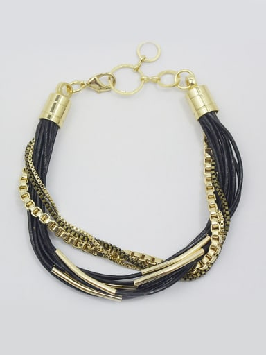 Exquisite Multi-layer Cownhide Leather Bracelet