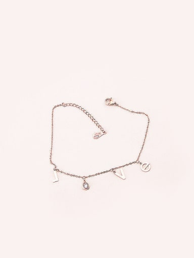 Love Letter Accessories Simple Anklet