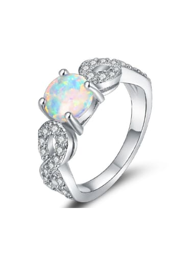 Exquisite Elegant Women Alloy Fashion Ring