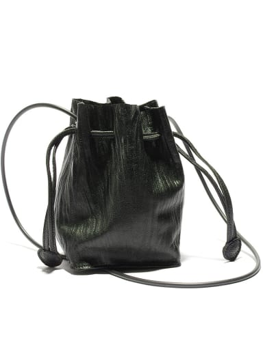 Niche Designer Sheepskin Wrinkle Bucket Bag