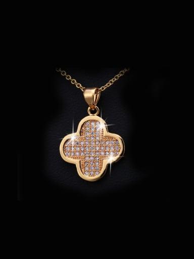 Elegant Clover Necklace Accessories