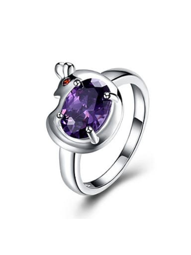 Fashion Rabbit Stone Women Ring