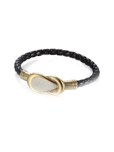 Anti- allergic Titanium Steel Pearl Bracelet