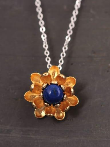 Elegant Flower Stone Women Necklace
