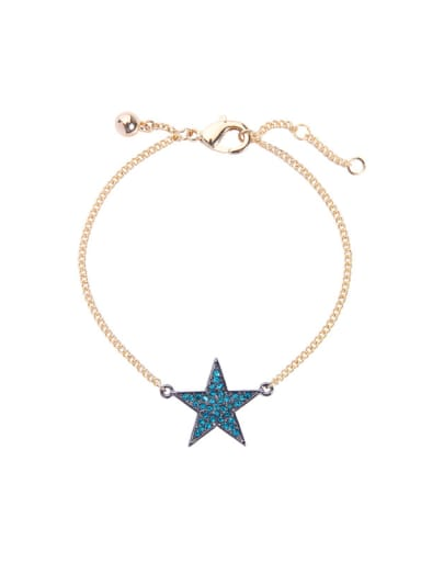Retro Style Simple Star Accessories Elegant Bracelet