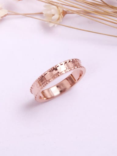 Figure Smooth Fashion Lover Ring
