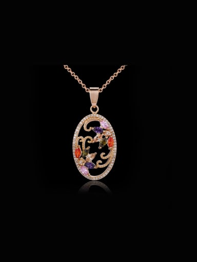 Oval Shaped Beautiful Necklace