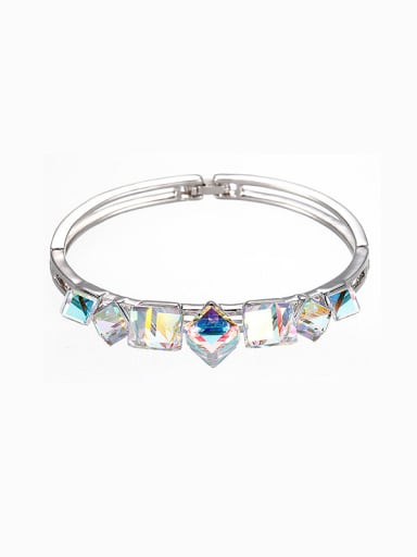 Colorful Swarovski Crystals Bangle