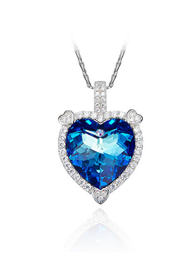 Swarovski Crystal Heart-shaped Necklace