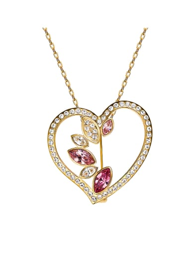 18K Gold Heart-shaped Necklace