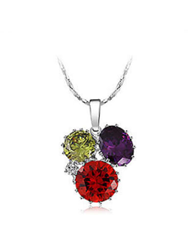 Fashion Cubic Zircon Women Necklace