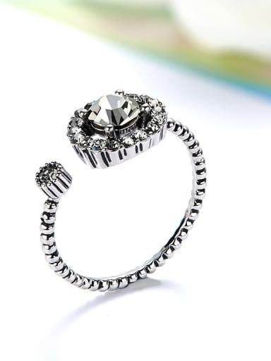 Vintage Swarovski Crystal Ring